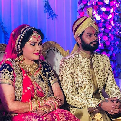 seema singh marriage photo