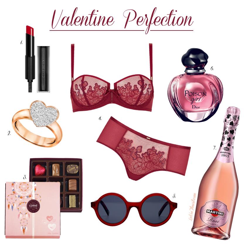 Valentine Paradis, Valentijn, cadeau, lifestyle, fashion, beauty, mode, makeup, parfum, gift, fashionblogger, beautyblogger, bblog, givenchy, dior, swarovski, dick moby, lingerie, triumph, LaVieFleurit.com
