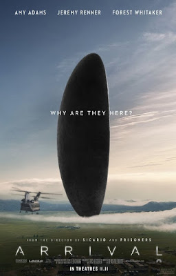 First Movie Trailer for ARRIVAL