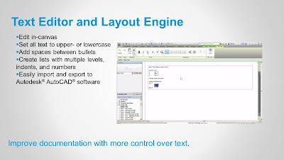 Text Editor and Layout Engine in Revit 2017