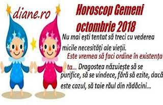 Horoscop Gemeni octombrie 2018