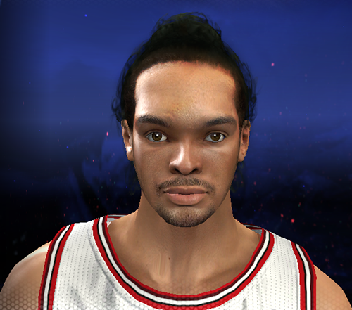 NBA 2K14 Joakim Noah Face Patch