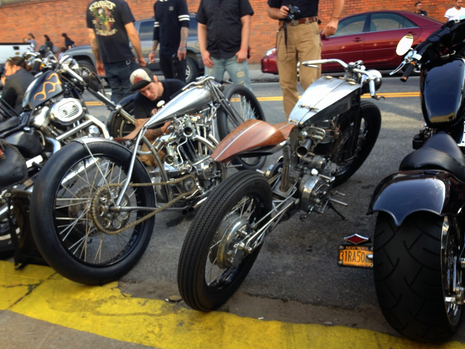 Incredible Retro Custom Cafe Racers at the Brooklyn Invitational Custom Bike Show 2013 3