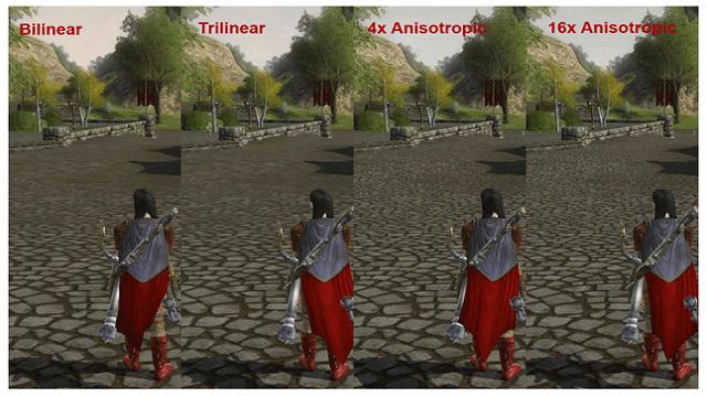 Anosotropic Filtering memperjelas objek jauh menjadi enak dilihat
