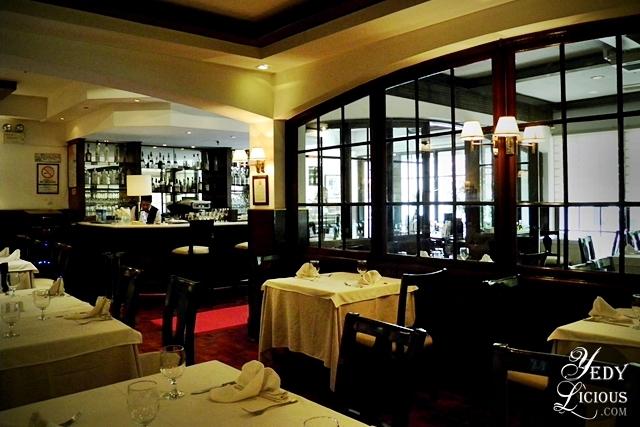 Inside Caruso Ristorante