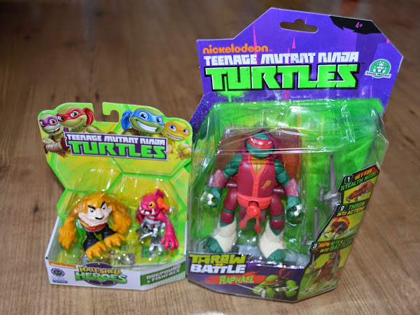 Win Nickelodeon Teenage Mutant Ninja Turtles Figures