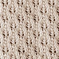 Lace Pattern for Beginners    Knitting Stitch Patterns