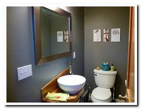 Bathroom ideas gray and brown