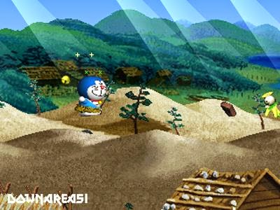 Doraemon 2 SOS Otogi no Kuni PSX Game
