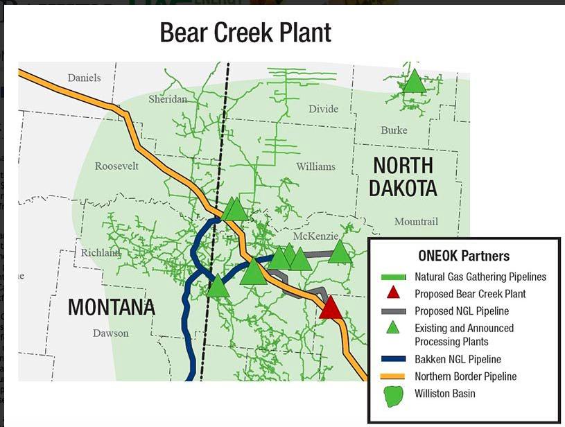 The Million Dollar Way The Bakken Oil Blog Bear Creek Natural Gas