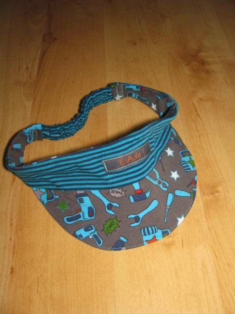 ElAdo ! Alles rund um's Nähen !: Stirnband mit Schirm für