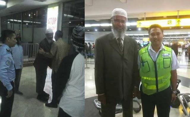Luput Dari Media, Ternyata Dr Zakir Naik Sudah Tiba Di Indonesia