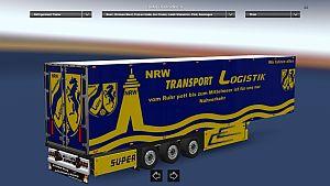 Trailer NRW Transport Logistik