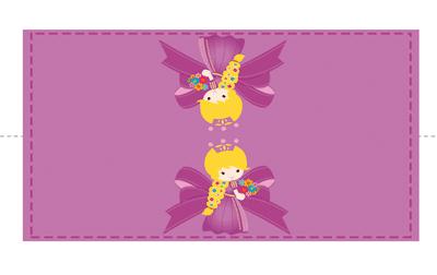 etiquetas candy bar de princesas para imprimir