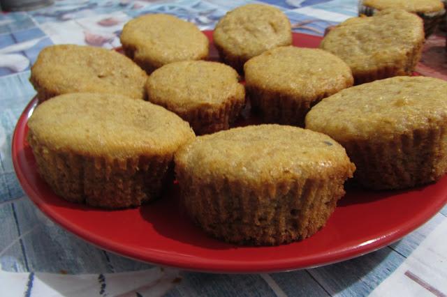 muffinki jabłkowo - cynamonowe