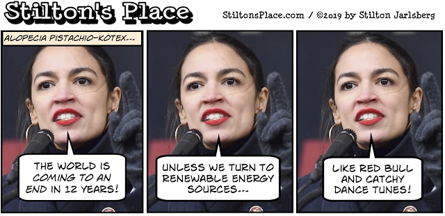 stilton's place, stilton, political, humor, conservative, cartoons, jokes, hope n' change, covington, native american, snl, stormy, cortez, wall, trump