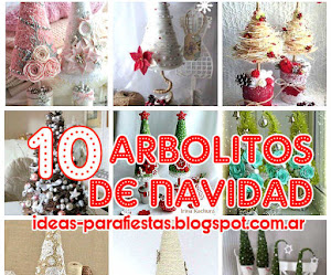 10 Arboles de Navidad / DIY