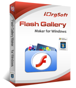 iOrgSoft Flash Gallery Maker 1.0.1