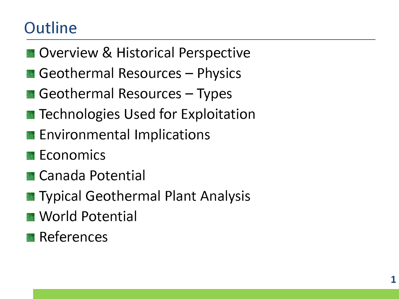 Geothermal Energy Economics And Environmental Impacts