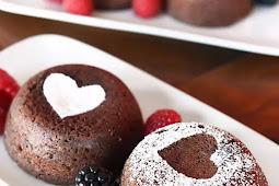 Easy Chocolate Lava Cakes