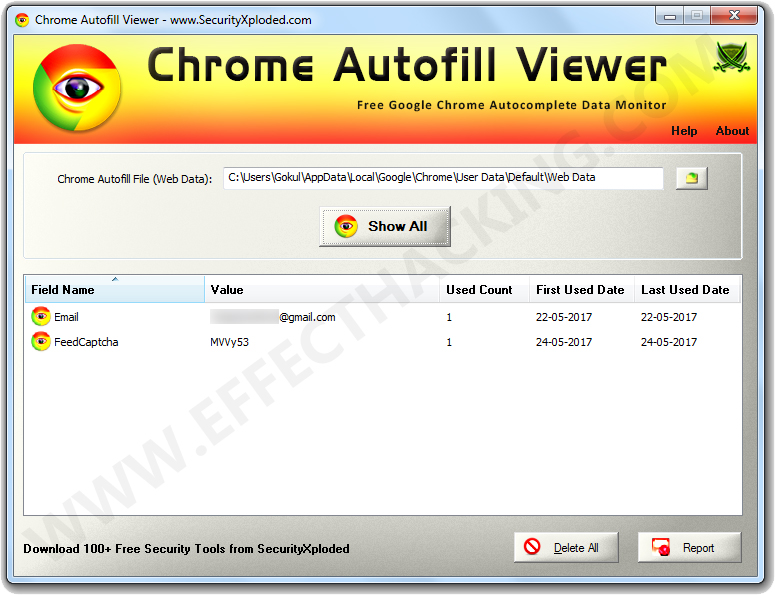 how to get google chrome to auto fill