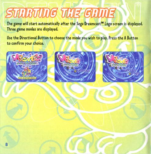 Ribbon Black: Pen Pen TriIcelon (Dreamcast) Manual