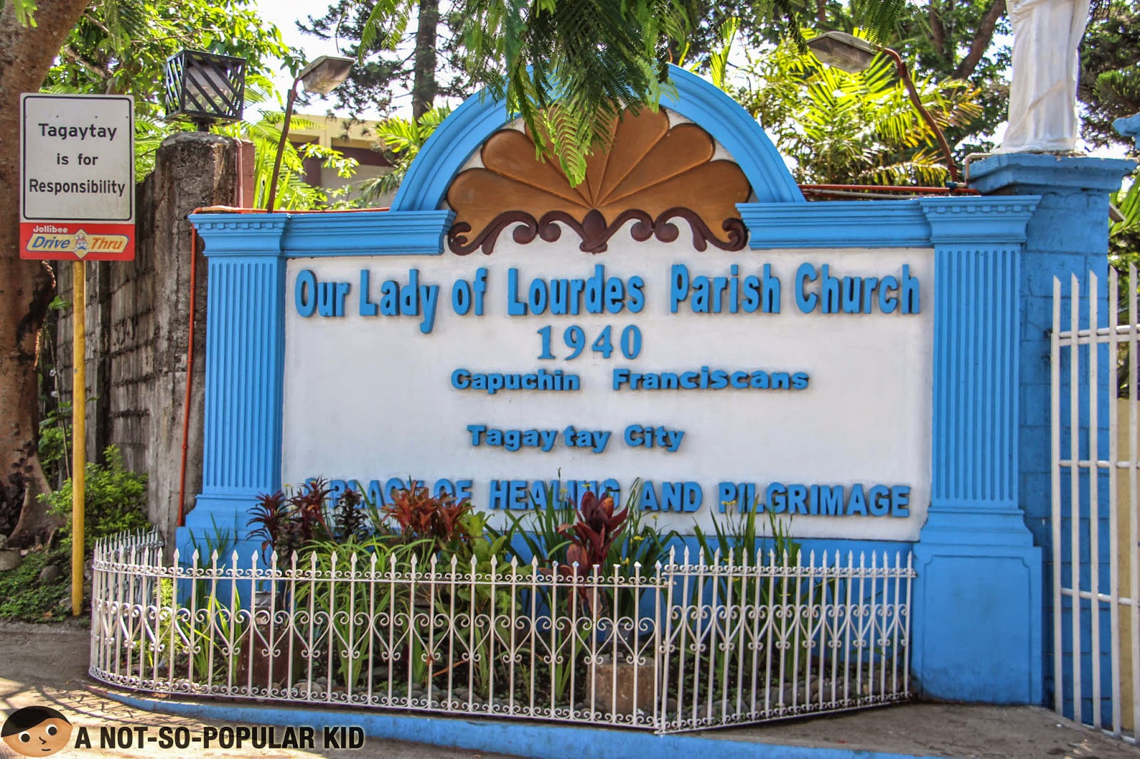 Our Lady of Lourdes Church - Tagaytay
