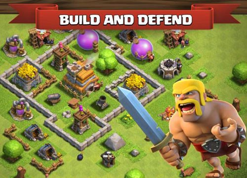 لعبة كلاش اوف كلانس Clash of Clans Pc