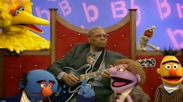 Speakin the Blues B B King Talks About the Letter B on Sesame