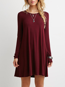 www.shein.com/Burgundy-Long-Sleeve-Casual-Dress-p-232575-cat-1727.html?aff_id=2525