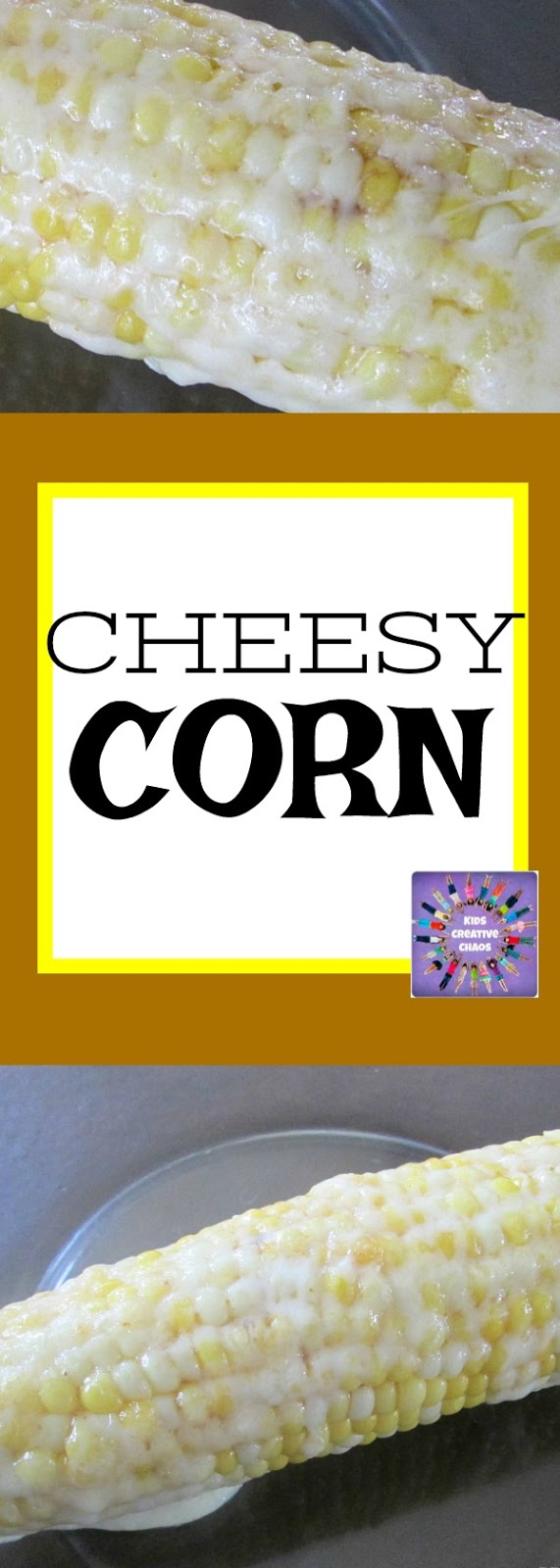 Corn on the Cob Recipe with Cheese