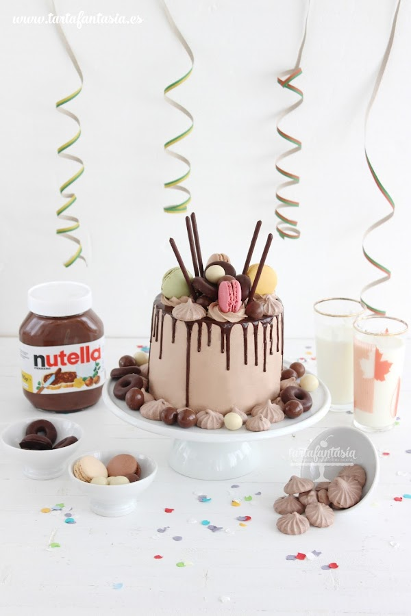 Receta bizcocho de Nutella