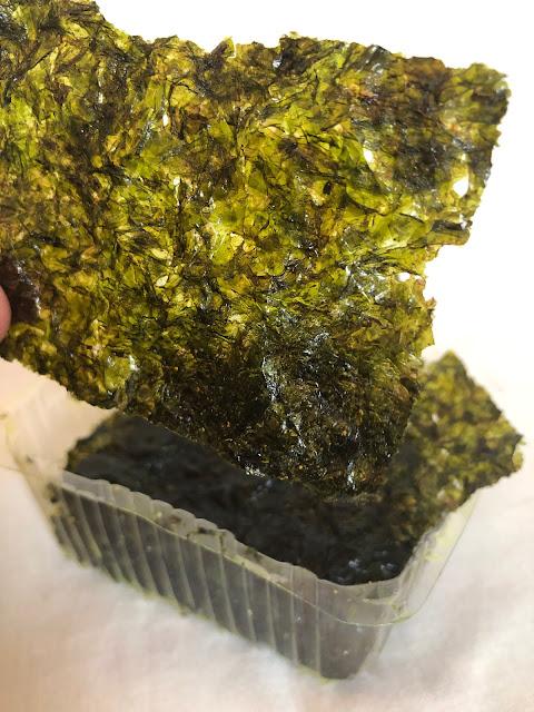 seaweed crispies