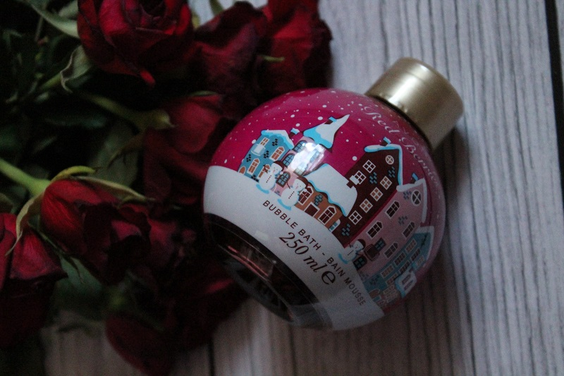 avon red berries płyn do kąpieli