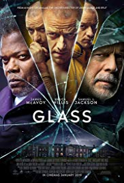 Glass | Full English Movie (2019) HDCam, Security guard David Dunn uses his supernatural abilities to track Kevin Wendell Crumb, a disturbed man who has twenty-four personalities