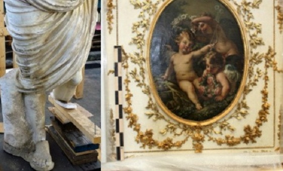 Italian customs seize huge haul of Roman artefacts