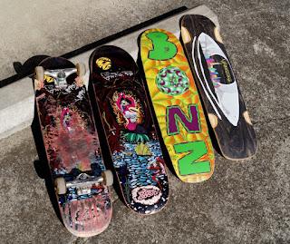 ハイブリッドスケートボードデッキ ボンジングスケートボード豊富に入荷