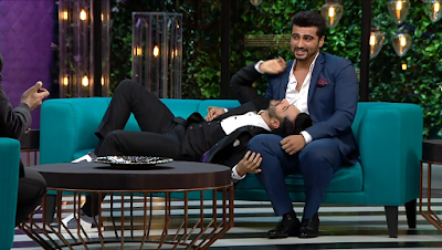 Varun Dhawan Flirting With Arjun Kapoor Koffee With Karan Season 5