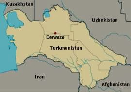 Map of Derweze