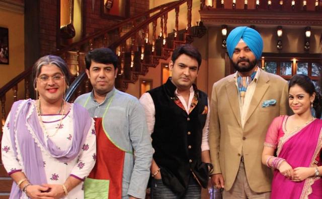 Naseem Vicky With Kapil Sharma and Sidhu
