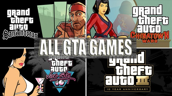 All Grand Theft Auto Games List-Free Download All Gta Games