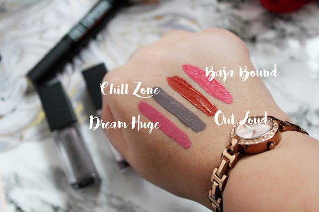 Smashbox Always On Liquid Lipstick Swatches