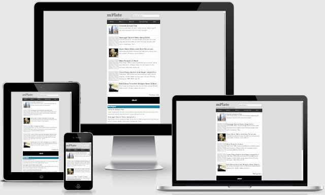 mPlate Responsive Blogger Templates