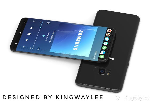 Top 8 Best & Latest Galaxy S8 Render Images