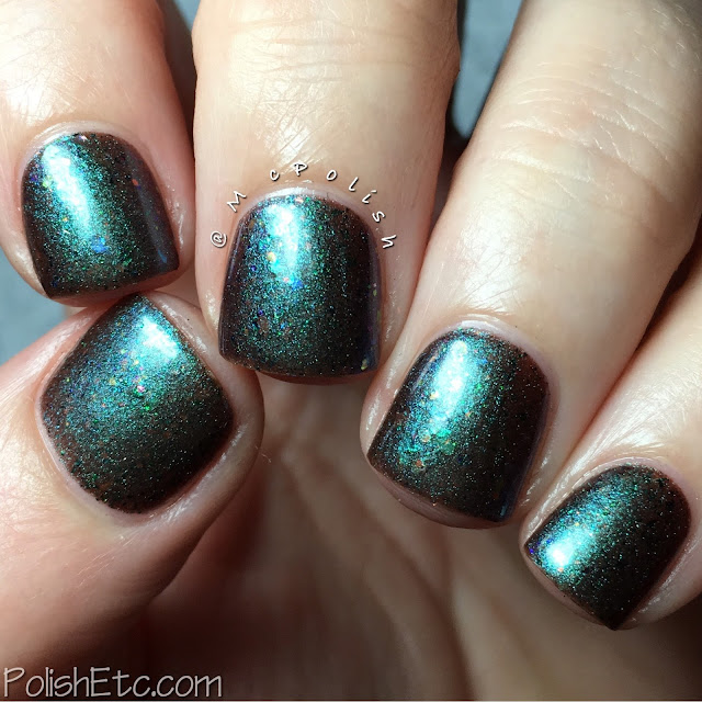 Lilypad Lacquer exclusive shades for Color4Nails - McPolish - Break the Rules