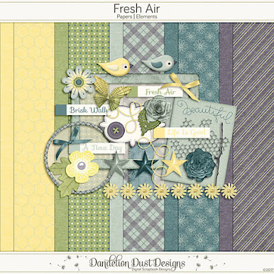 Fresh Air by Dandelion Dust Designs, Newsletter Freebie