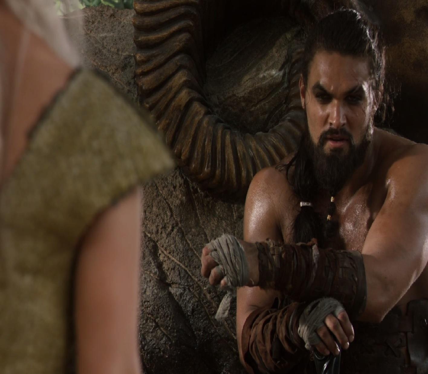 Jason Momoa Languages: Neko Random: Things I Like: Khal Drogo (Game Of Thrones