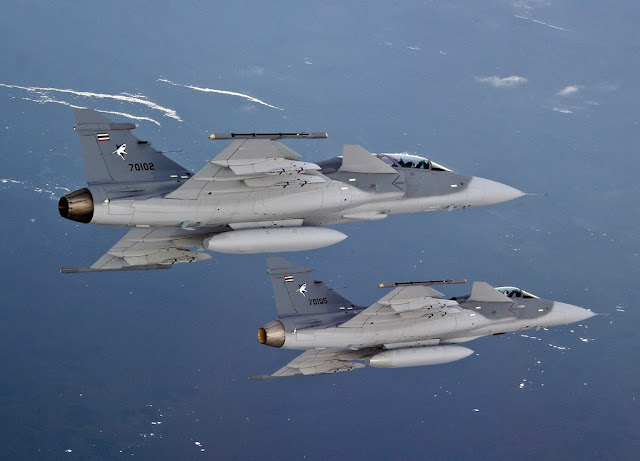 THE UNUSUAL ACCIDENT OF THAI GRIPEN