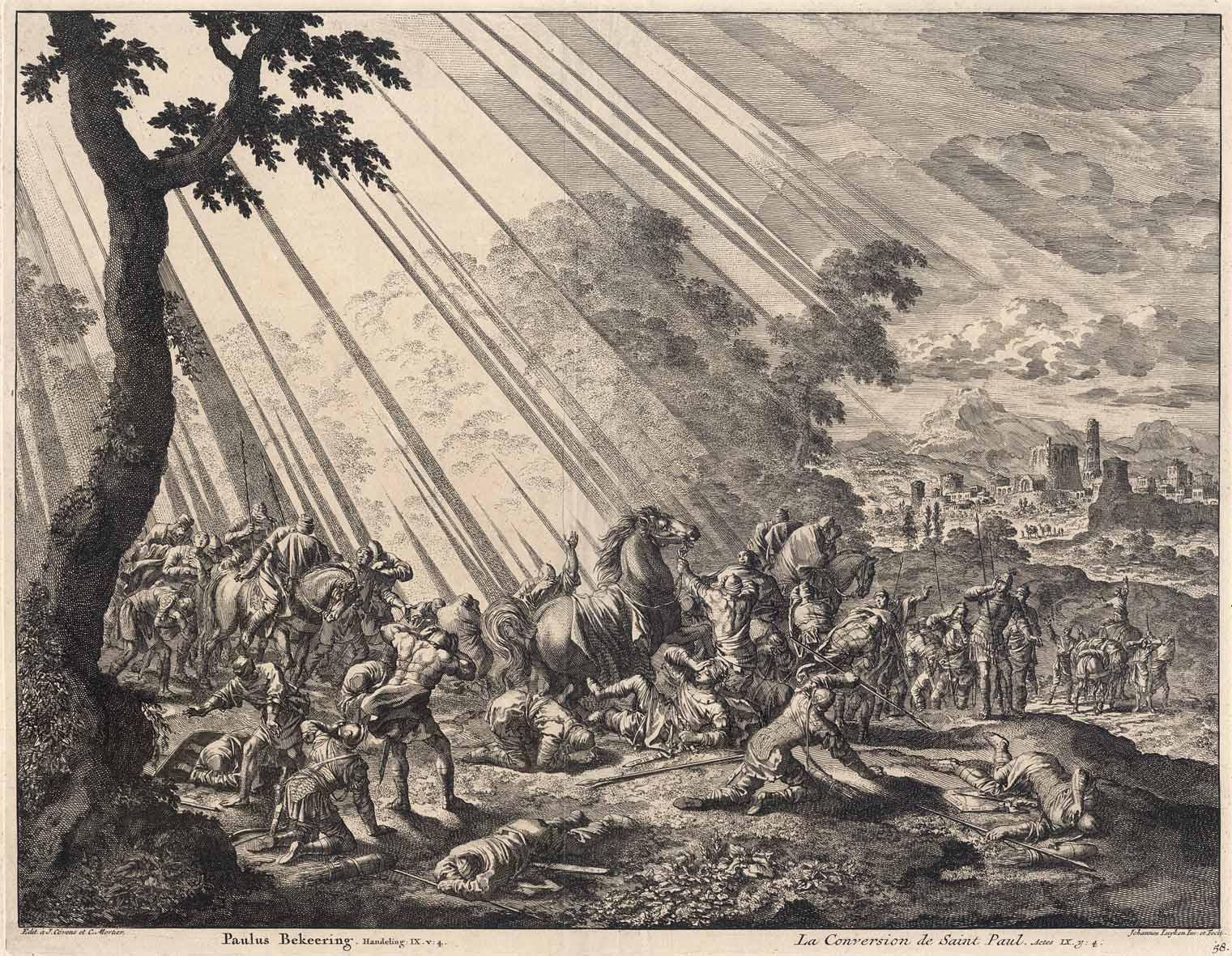 Prints And Principles Jan Luyken S Etching The Conversion Of St