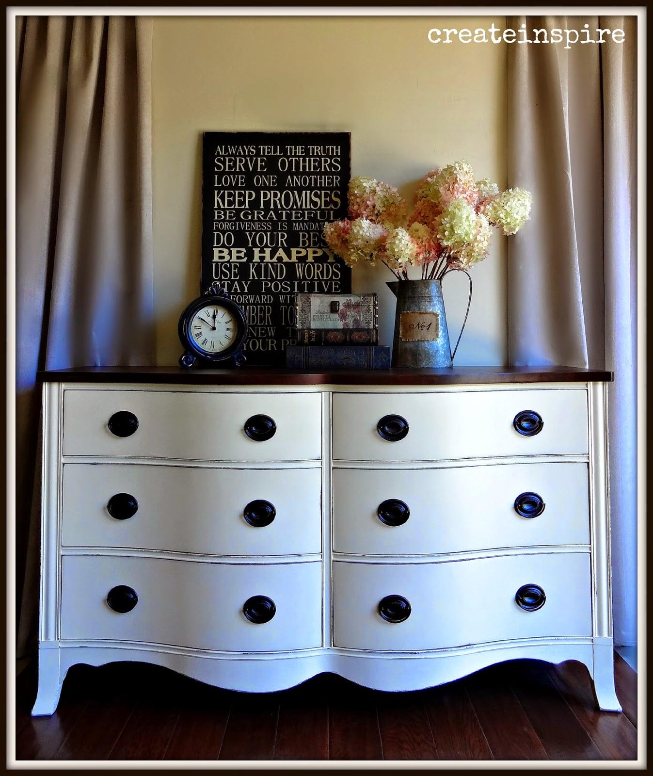 Muebles pintados muebles con encanto - Muebles pintados en blanco ...